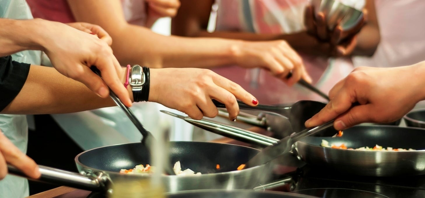 Mediterranean Street Food Cookery Class - London-1