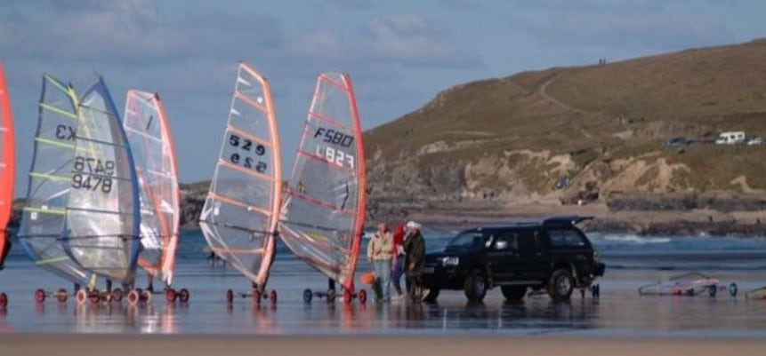 Cornwall Speedsailing Experience For Two-1