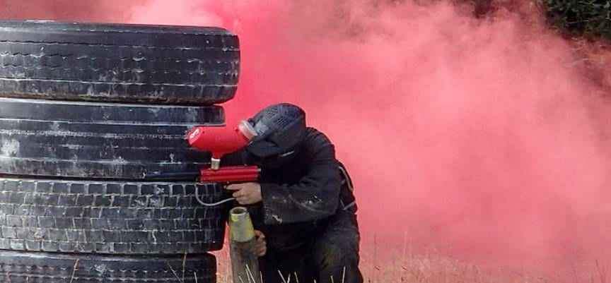 400 Ball Paintballing Experience in Cornwall-1