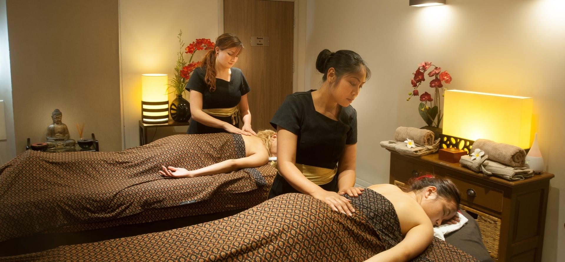 Couples Thai Oil Massage (60 minute) - Brighton-1