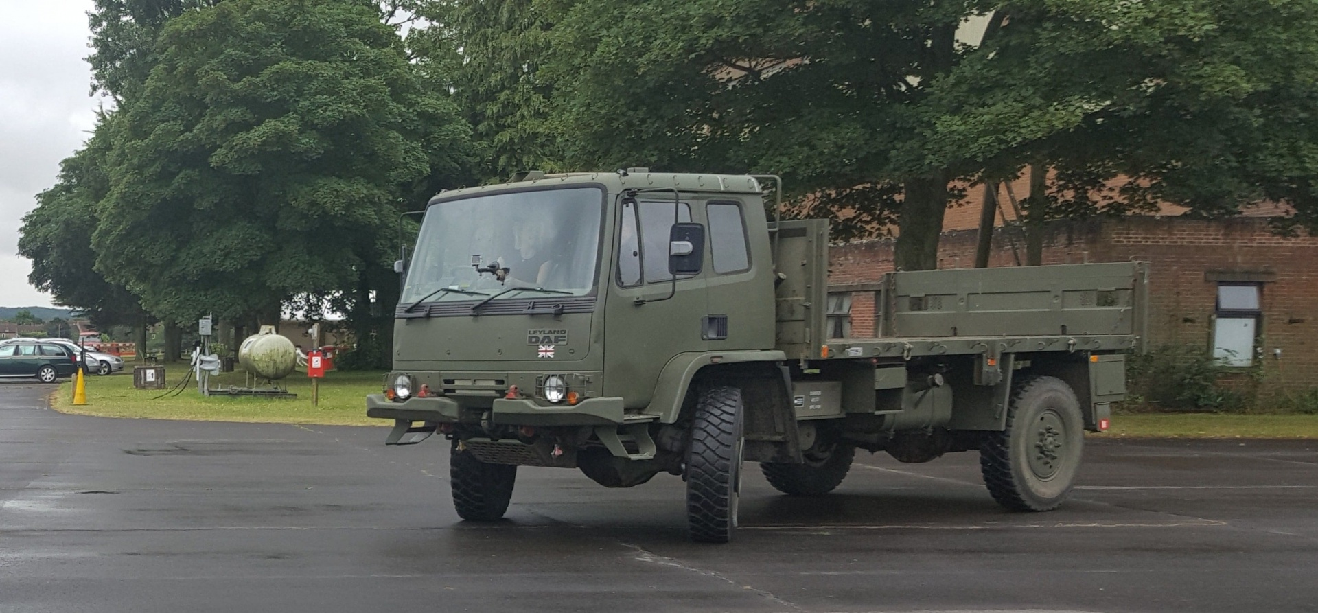 Leyland DAF 4x4 Army Truck Off Road Driving Day - Oxford-1