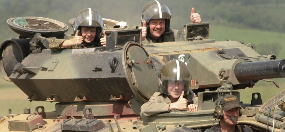 Dads & Lads Tank Experience - Leicestershire-3