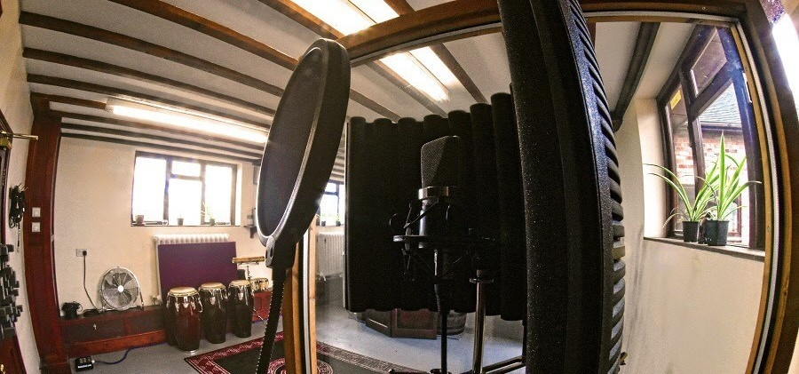 One Hour Recording Studio Experience in Derbyshire-1