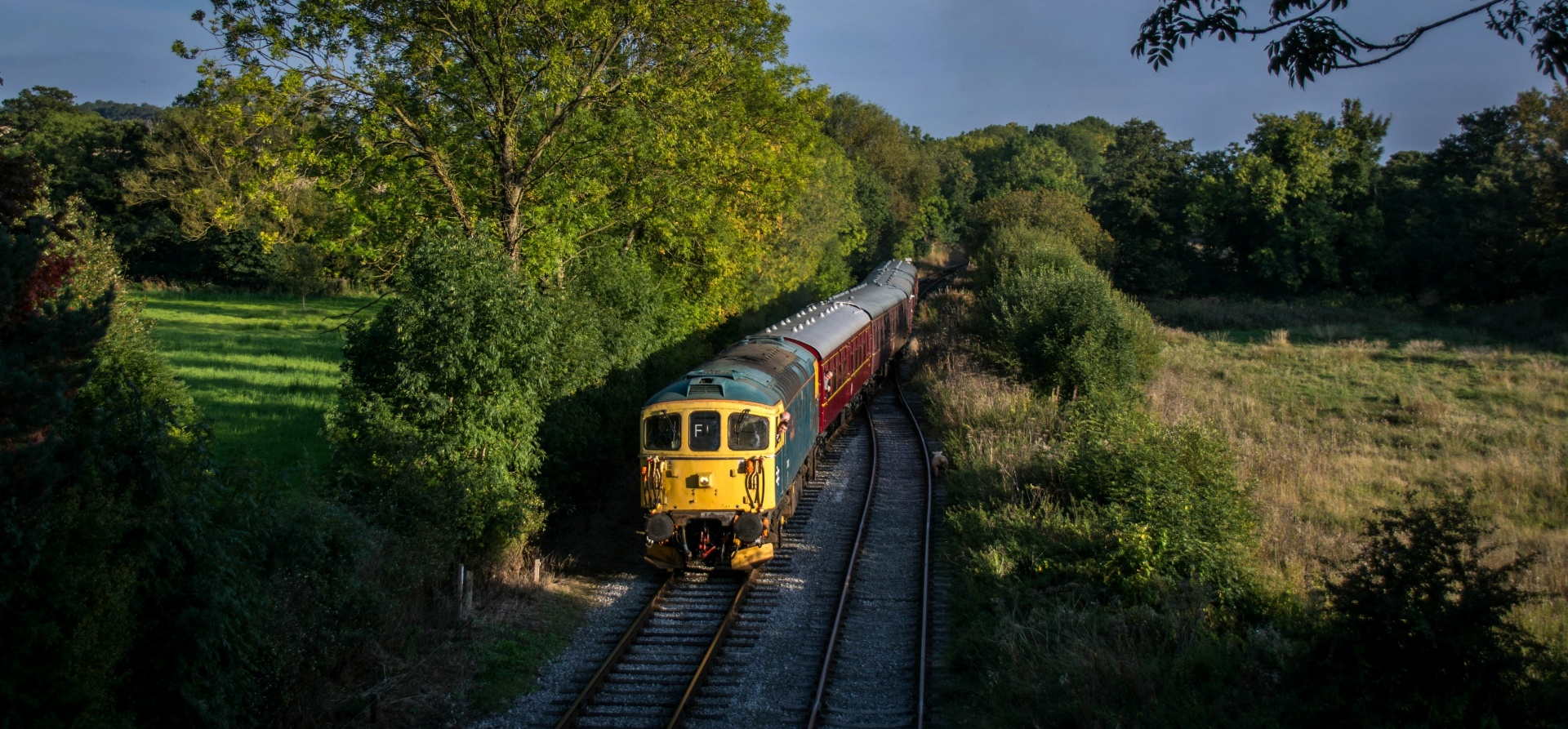 Diesel Train Driving Experience - Derbyshire-4