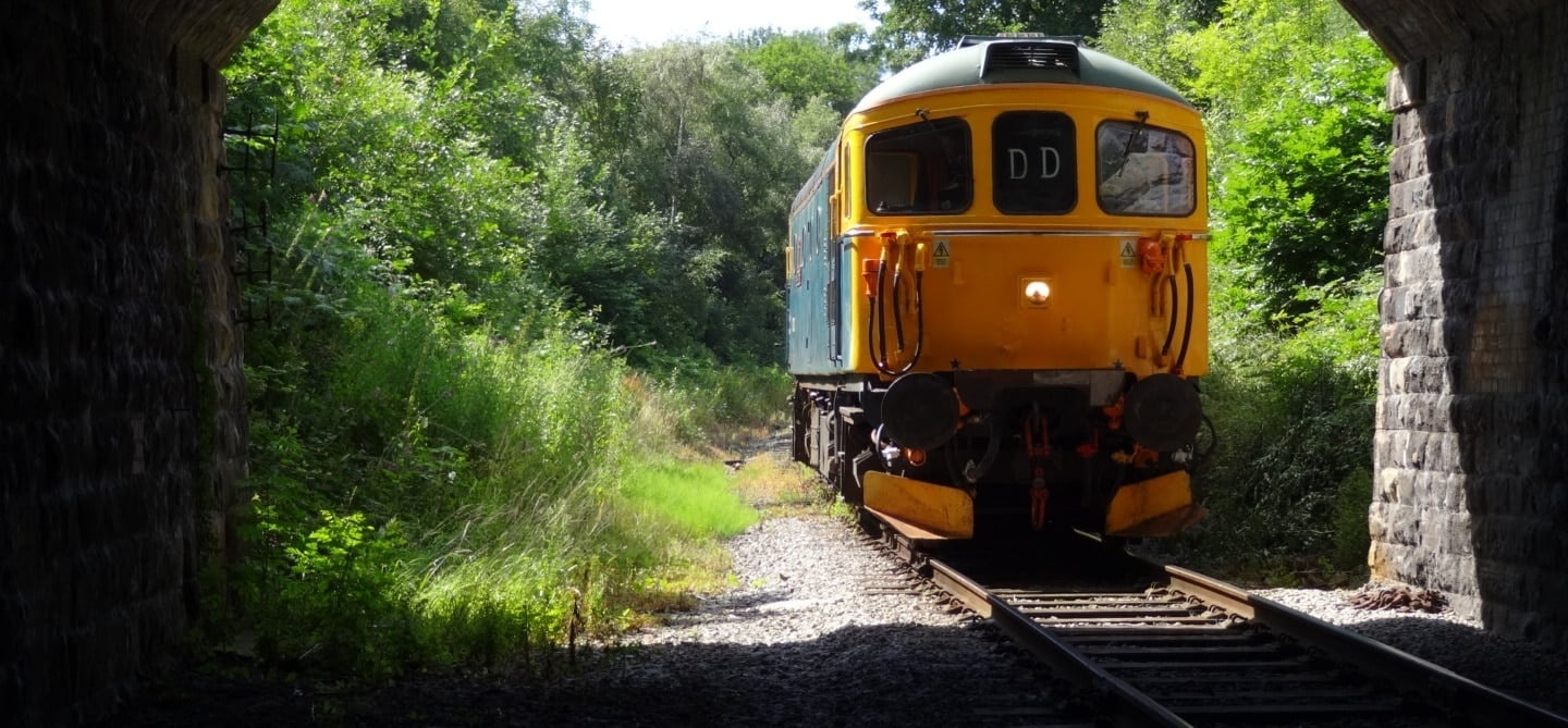 Diesel Train Driving Experience - Derbyshire-1