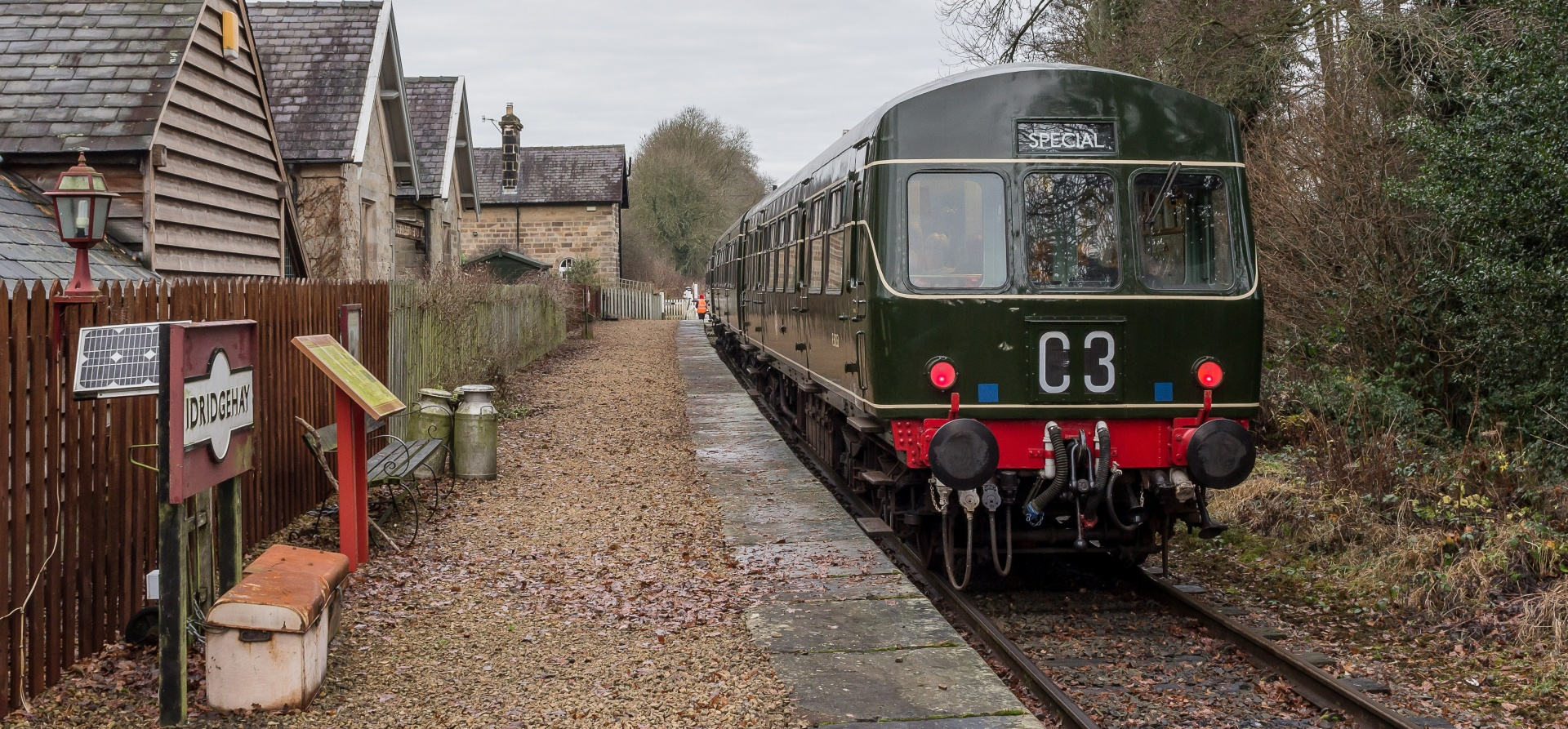 Diesel Train Driving Experience - Derbyshire-3