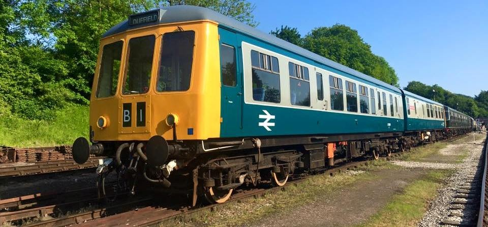 Diesel Train Driving Experience - Derbyshire-2