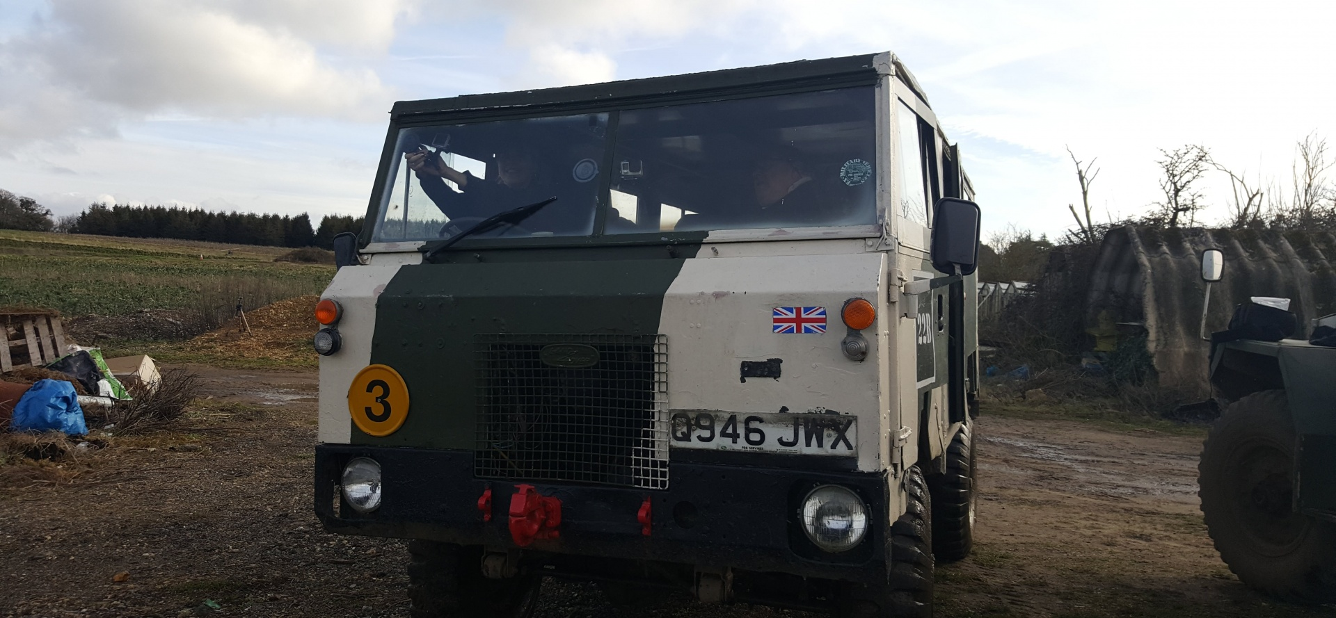 Classic Military Vehicle Driving Day in Dorset-6