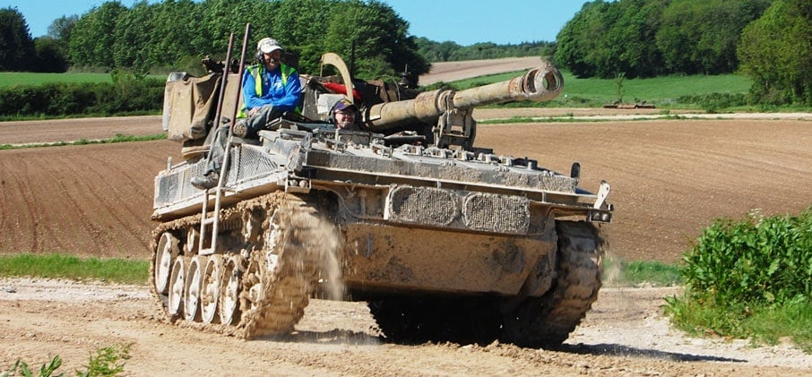 Experience Tank Driving - Hampshire-1