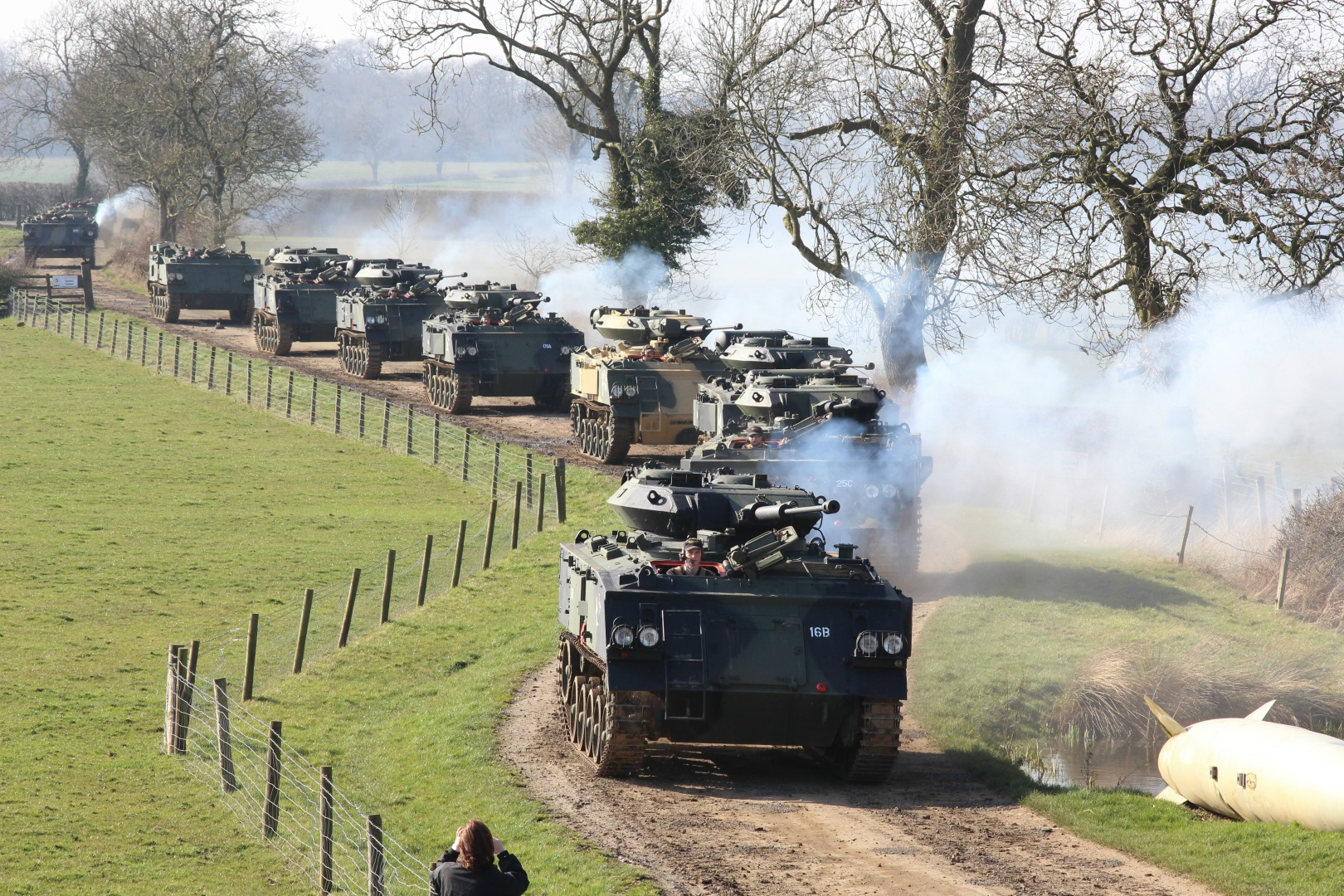 Dads & Lads Tank Experience - Leicestershire-5