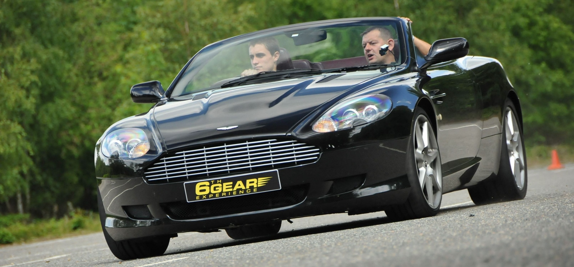 Triple Aston Martin Driving Experience-3