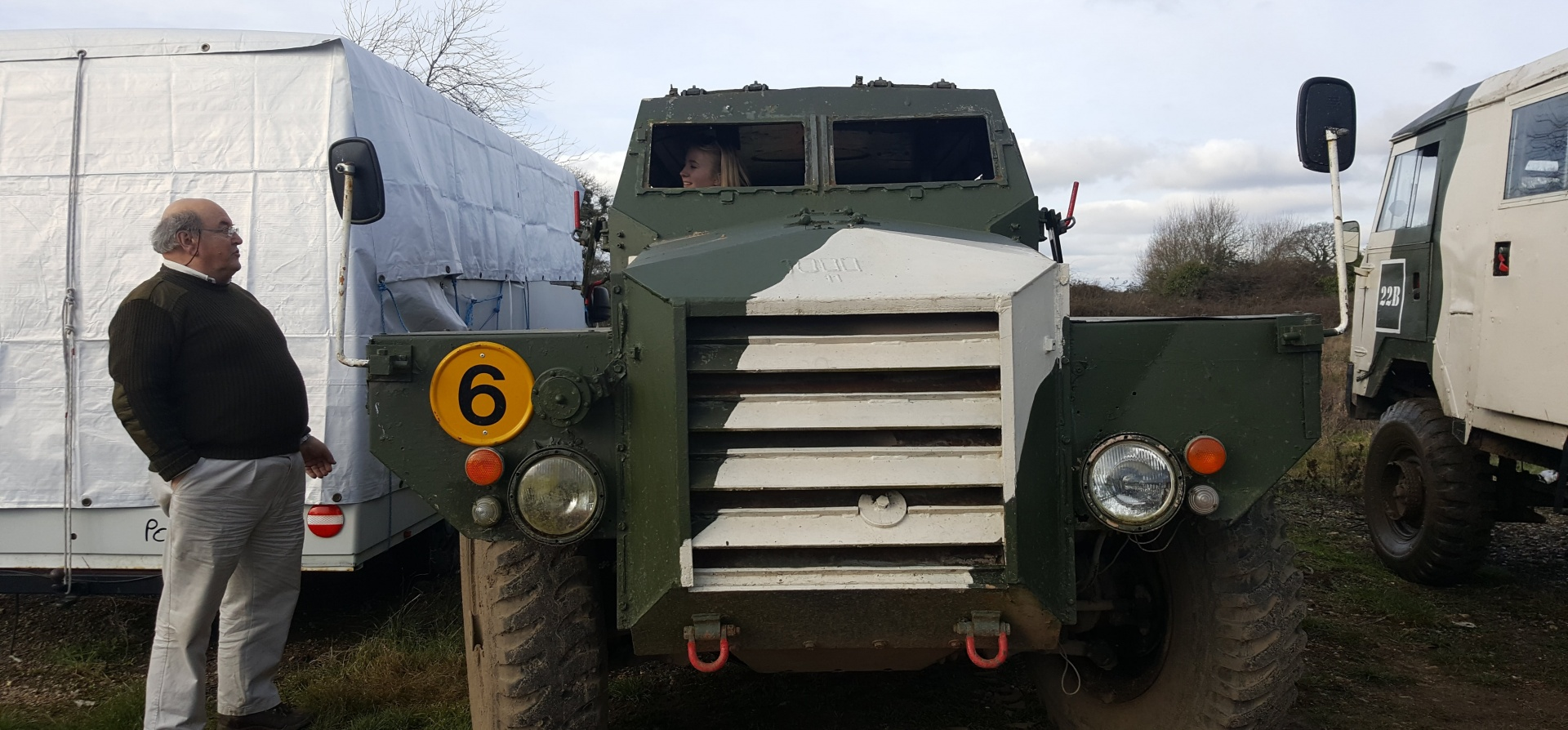 Classic Military Vehicle Driving Day in Dorset-9