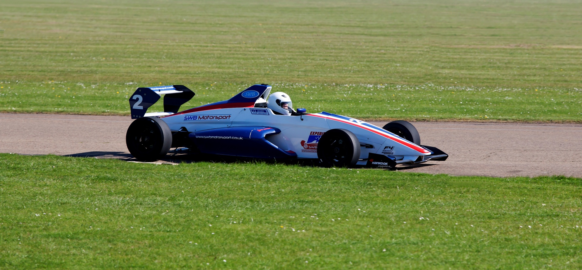 Single Seater Formula Race Car Driving