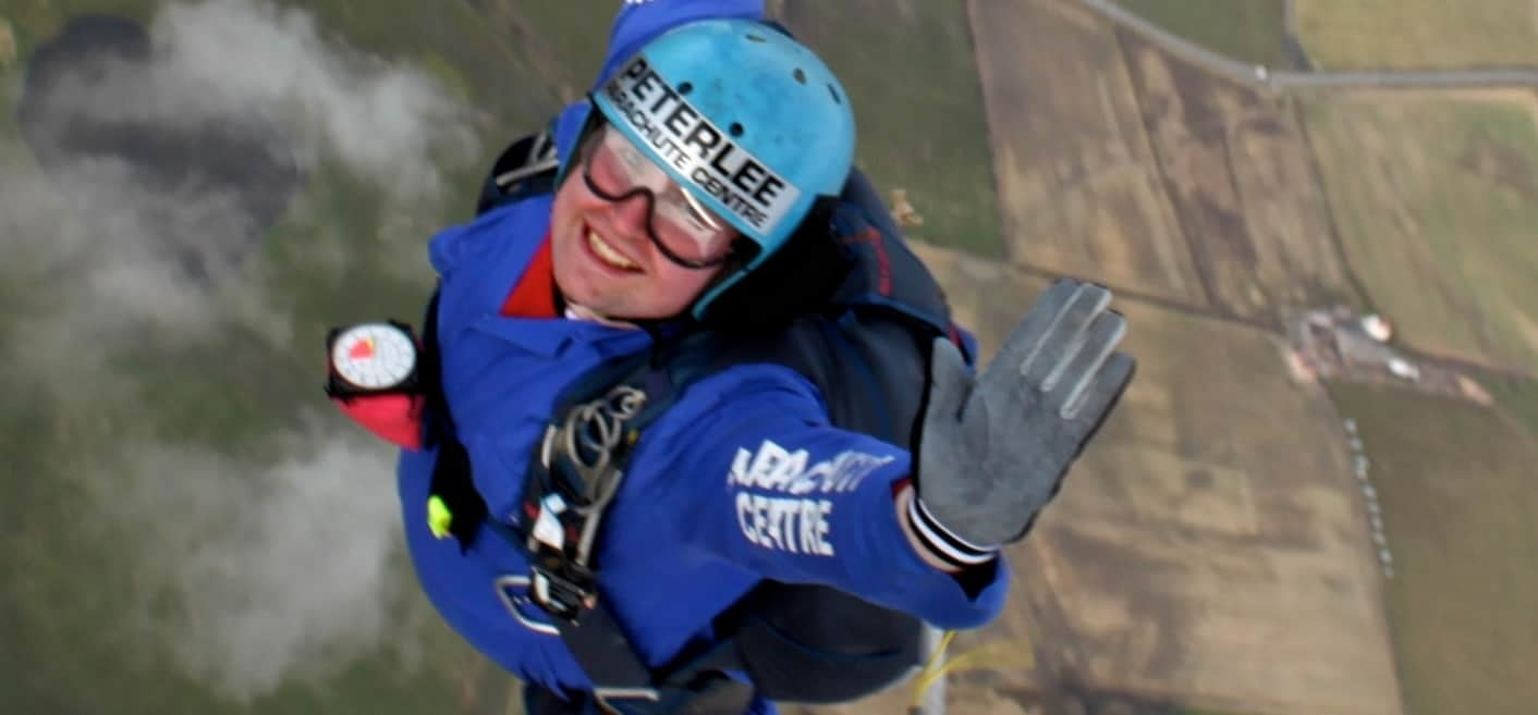 Static Line Parachute Jump - North East