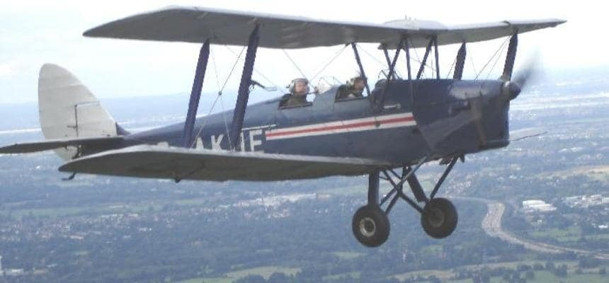 Tiger Moth 15 Minute Flight - Surrey