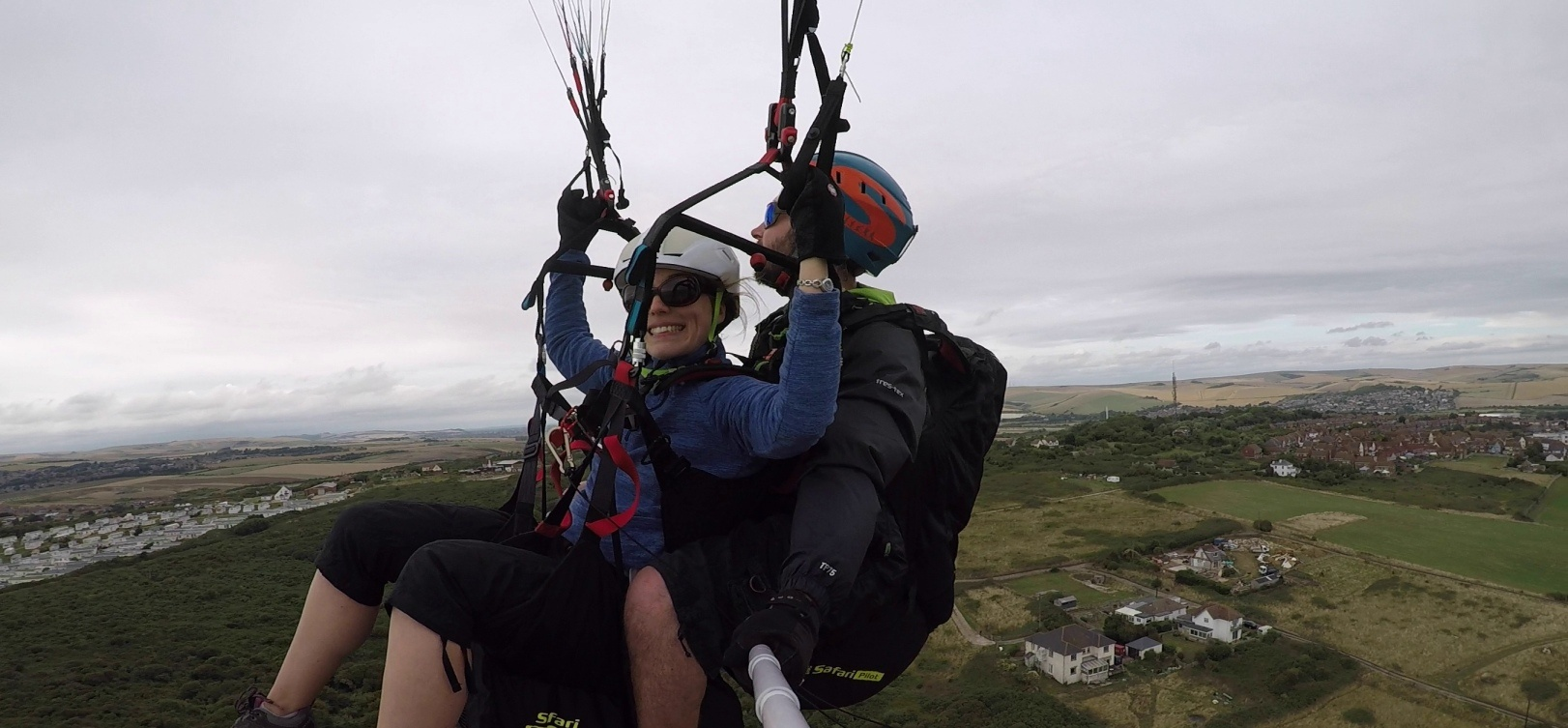 Tandem Paragliding Adventure in East Sussex-4