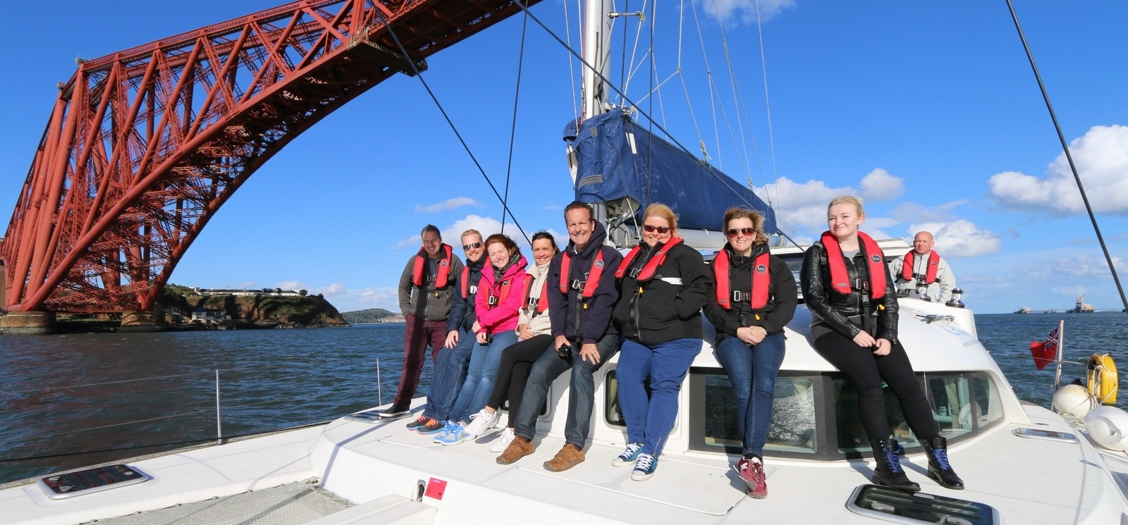 Forth Bridge Sailing Experience Edinburgh