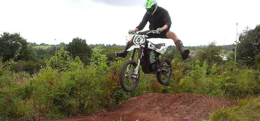 Off Road Electric Dirtbike Experience - Cheshire-1
