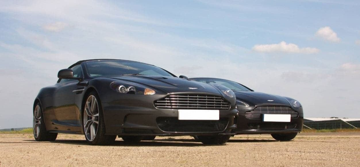Aston Martin Driving Thrill With Hot Lap