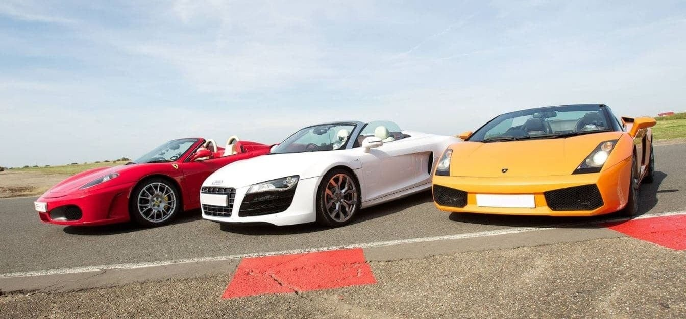 Supercar Taster - Double Driving Experience-4