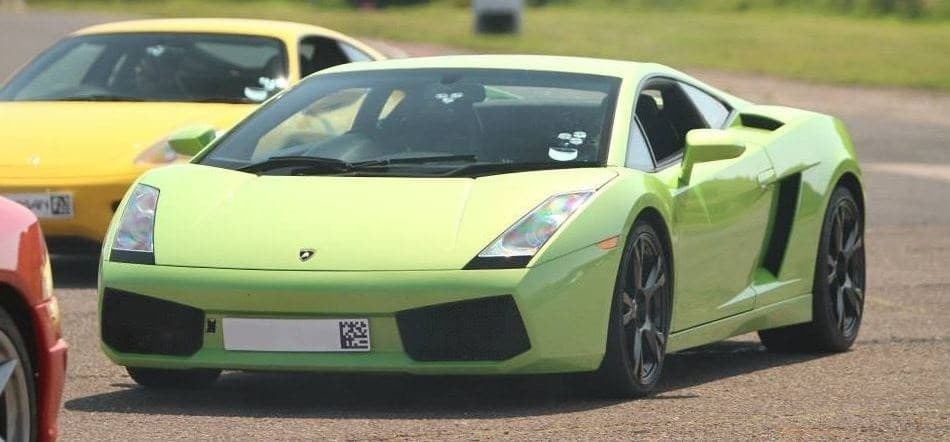 Lamborghini Driving Thrill With Hot Lap-4