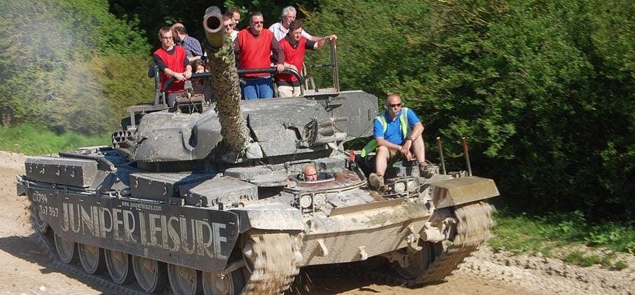 Experience Tank Driving - Hampshire-3
