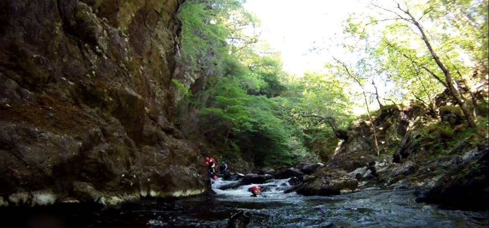 Half Day Canyoning Experience in Stirlingshire-11