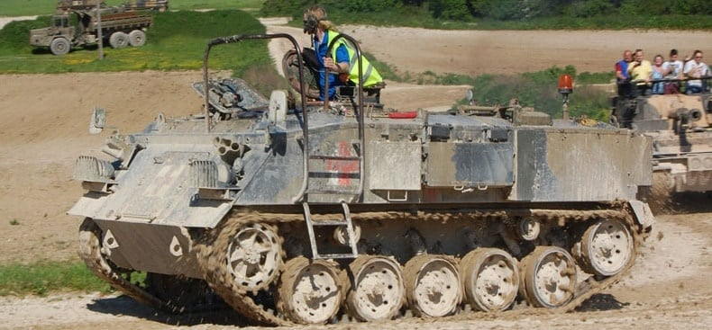 Experience Tank Driving - Hampshire-4