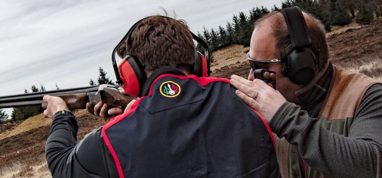 Clay Pigeon Shooting In Falkirk - 50 Clays