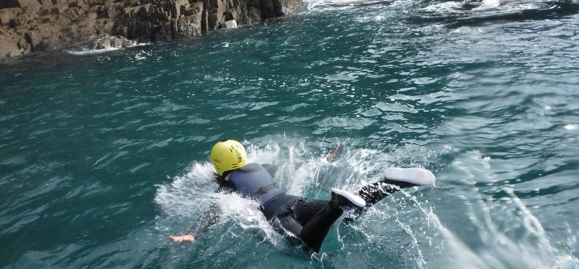 Full Day Coasteering Adventure in Pembrokeshire-7