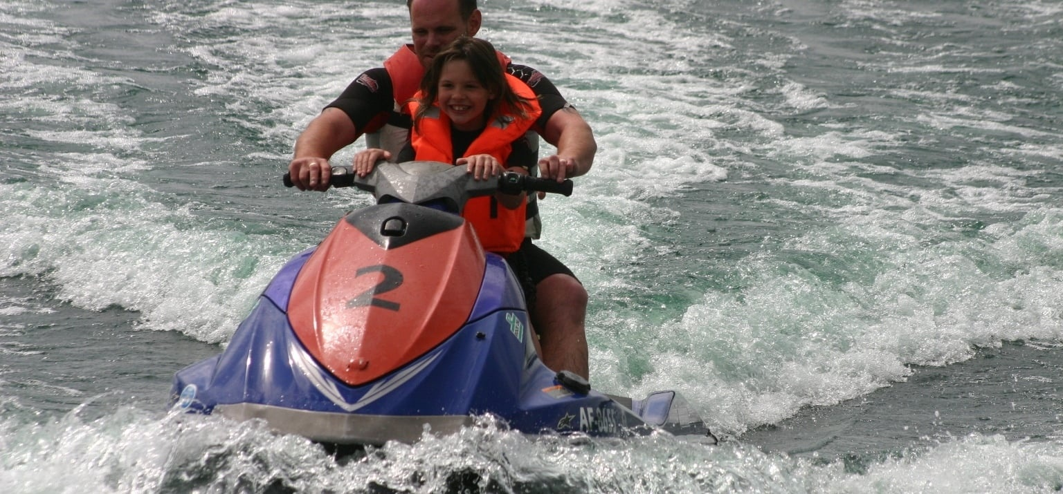 a jet skiing experience Jetski rides are the most popular activity of all water sports  there is no need  for a licence to ride a jet-ski, nor is previous experience necessary, however, you .