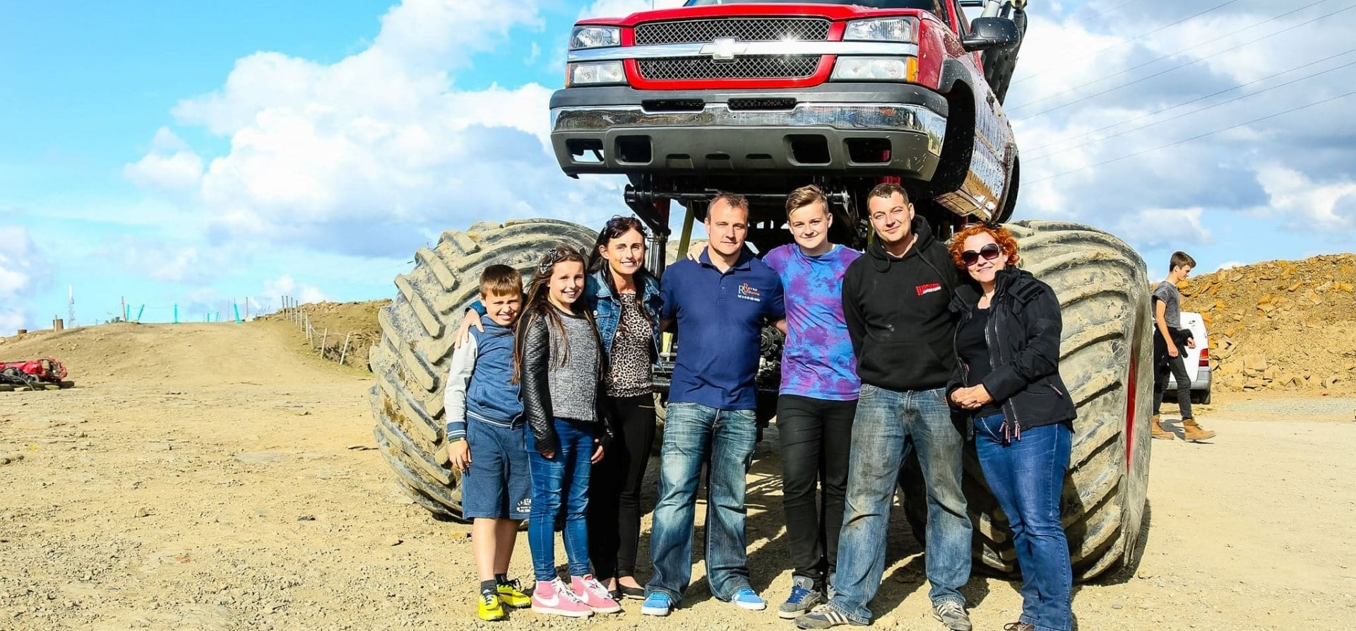 Family Monster Truck Passenger Ride Experience-1