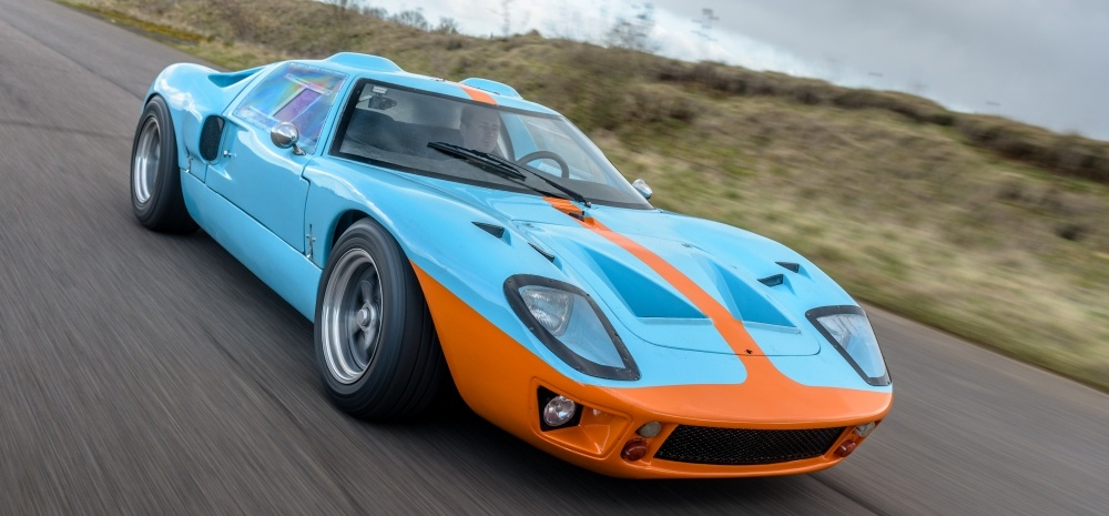 Ford GT40 6 Mile Driving Experience-3