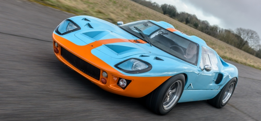 Ford GT40 6 Mile Driving Experience-2