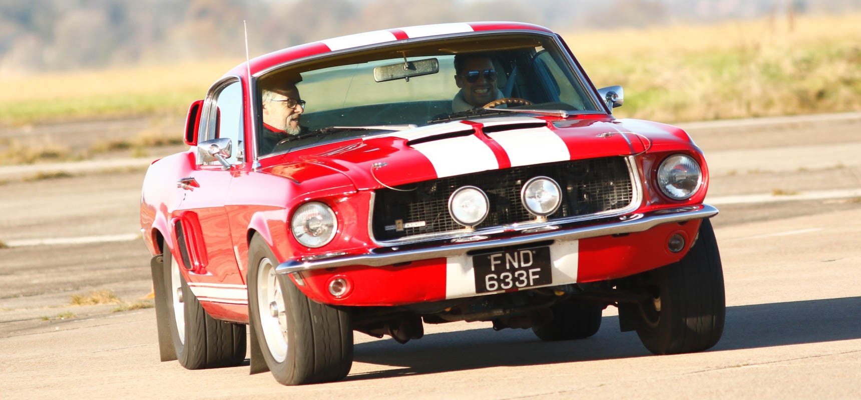 Drive a ford mustang in oxfordshire 1