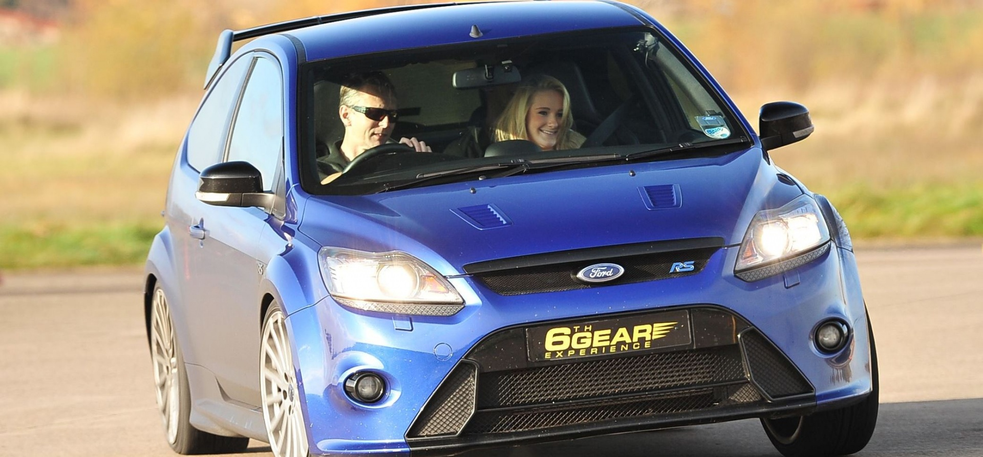 Kids Supercar Drive With Hot Lap In a Ford Focus RS-2
