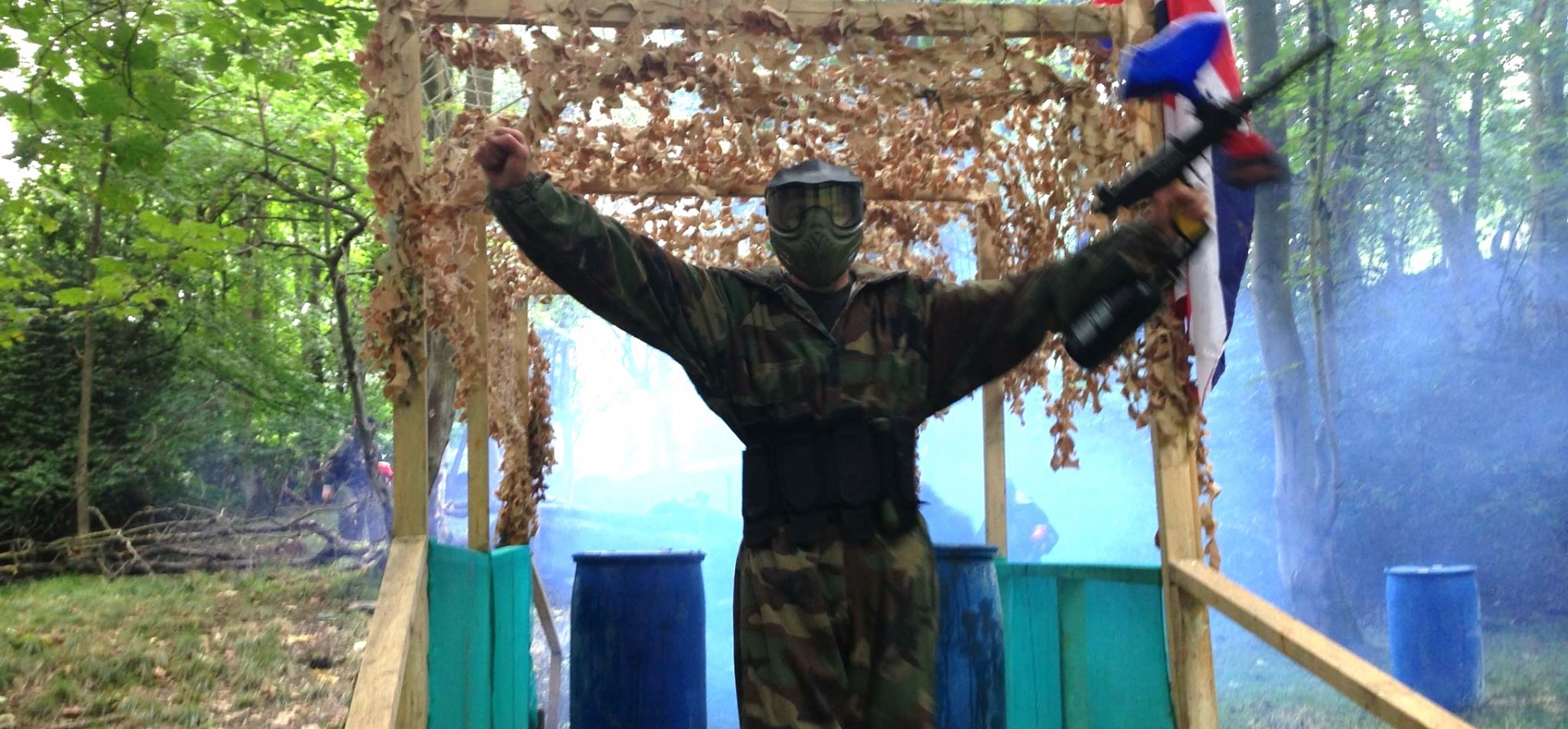 Half Day Paintballing Experience - Leeds-4