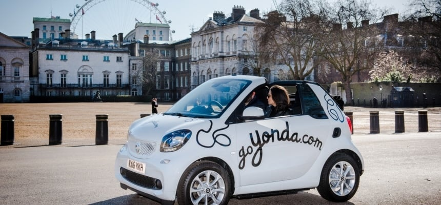 Four-Seater Self Driving Tour of London-1