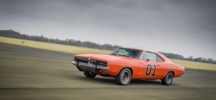 'General Lee' Dodge Charger 3 Mile Experience-2