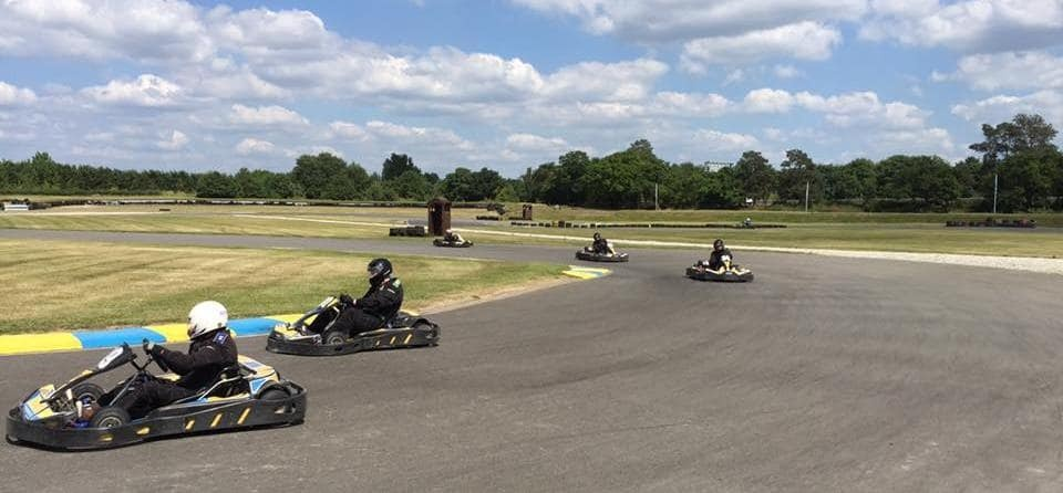 30 Minute Outdoor Karting Experience in Suffolk