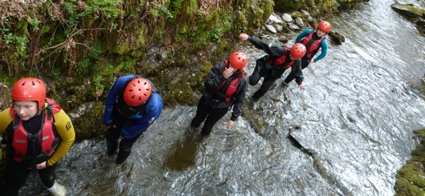 Gorge Walking Experience - North Wales-2
