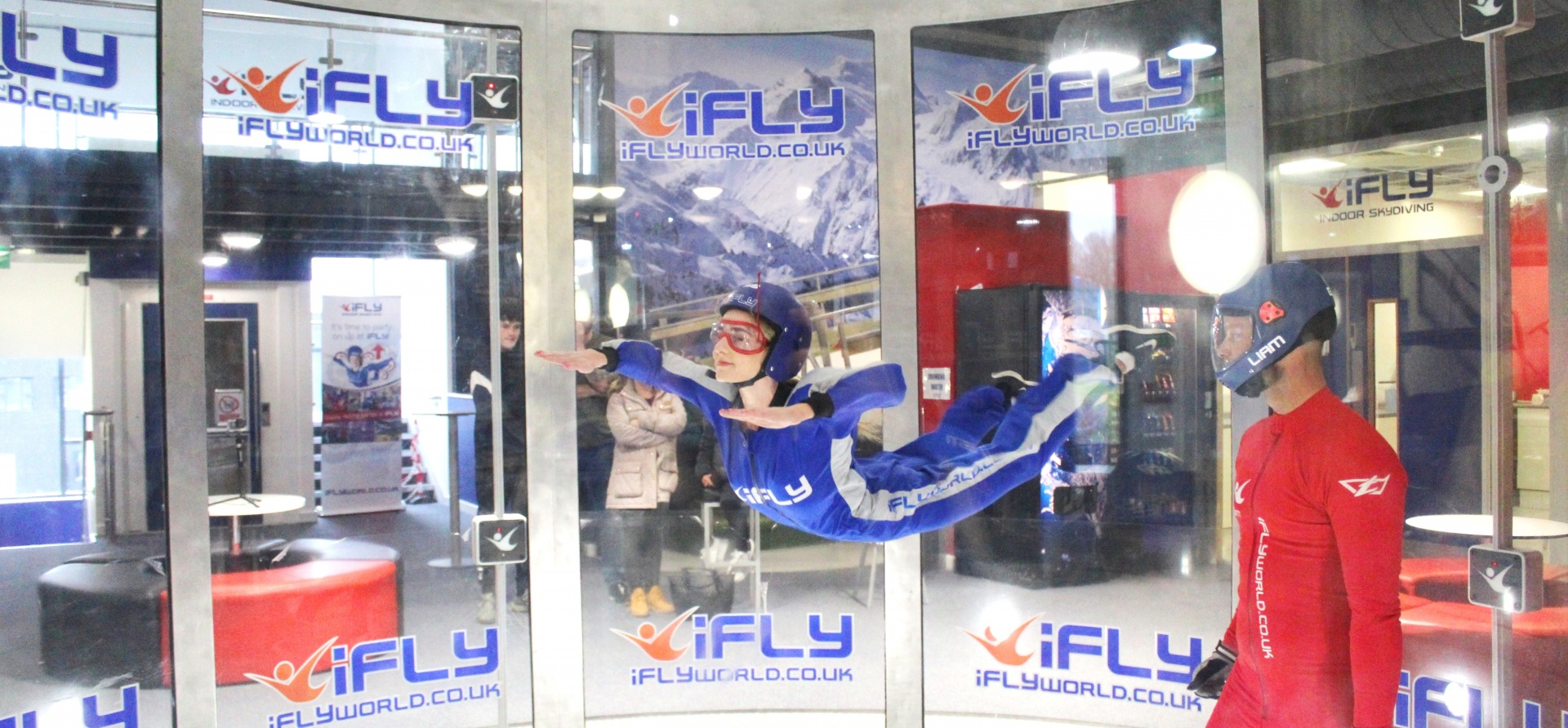 Indoor Skydiving Airborne