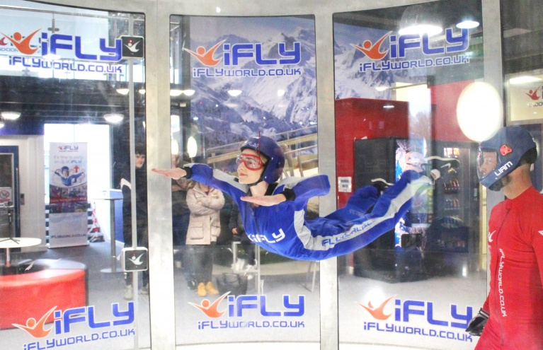 Graceful Wind Tunnel Skydiving ifly Centre Gift Experience For All Abilities.jpg