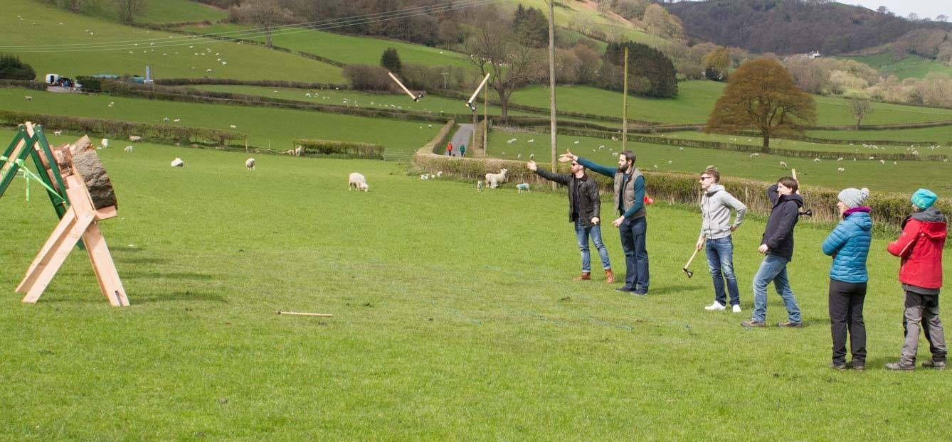 Half Day Axe Throwing Experience - North Wales-5