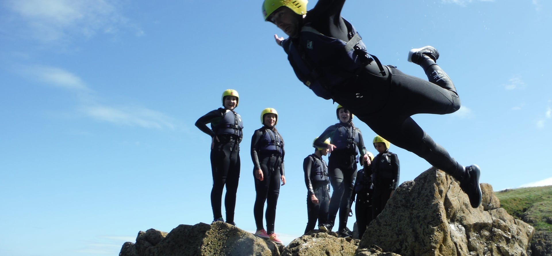 Coasteering Adventure In Pembrokeshire - Half Day