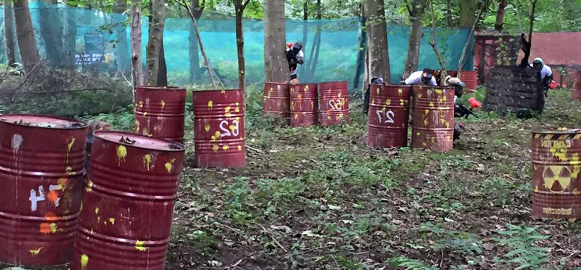 Half Day Paintballing Experience - Leeds-5