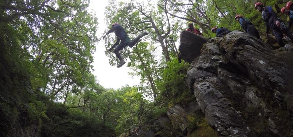 Half Day Canyoning Experience in Stirlingshire-9