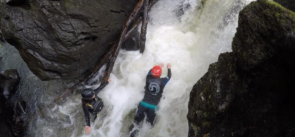 Half Day Canyoning Experience in Stirlingshire-13