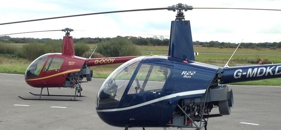 30 Minute R22 Helicopter Lesson in Swansea-1