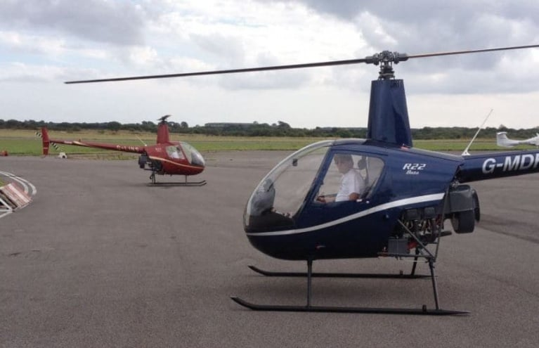 Heli-Air-Wales-R22-Lesson-Two-Helicopters.JPG